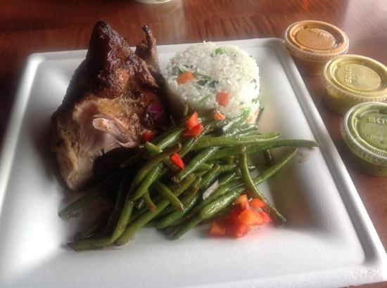 14 chicken white meat green beans infused rice picture of viva viva chicken 14 chicken white meat green beans infused rice forumfinder Image collections