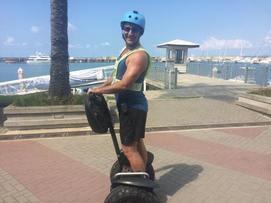 Segway Tours of Costa Rica: Yogi Aaron and his wheels.