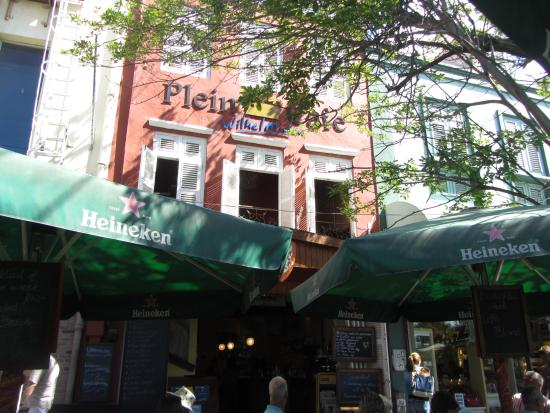 Plein Cafe Wilhelmina: Plein Cafe