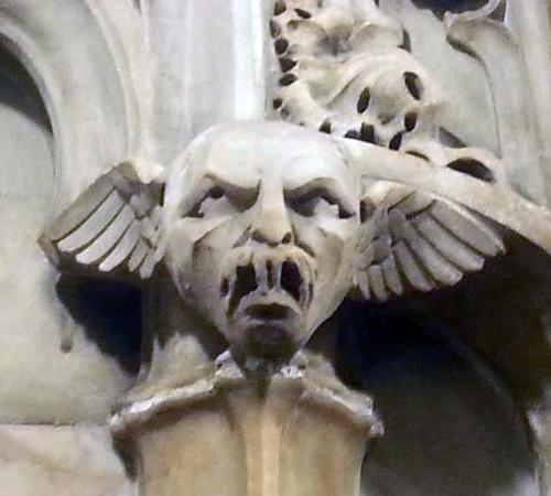 Woolworth Building: Gargoyle