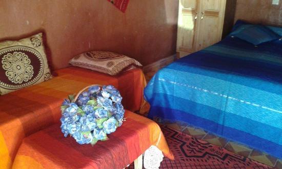 Auberge Camping Ocean Des Dunes : Double room
