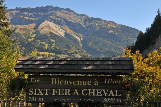 Maison La Cerisaie : Welcome to Sixt Fer à Cheval