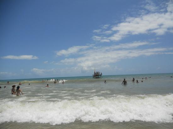 Itubera, BA: praia de pratigi