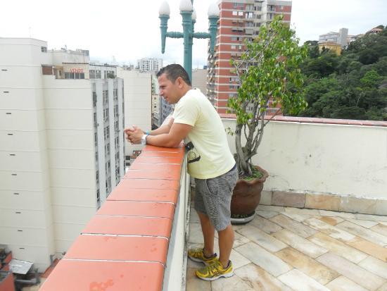 Rio's Nice Hotel: vista da torre