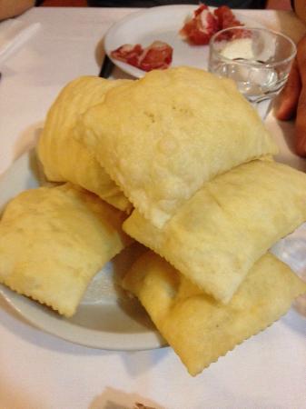 Trattoria Santa Croce: gnocco fritto
