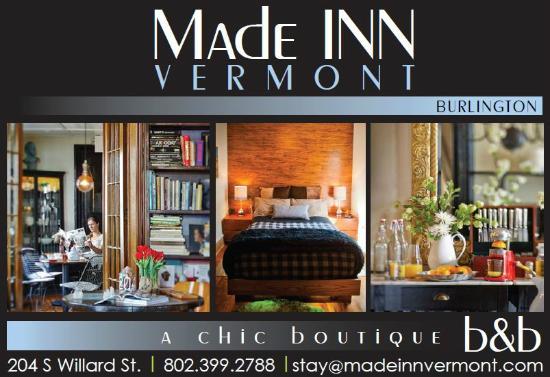Made INN Vermont An Urban Chic Bed And Breakfast MADE VERMONT AN