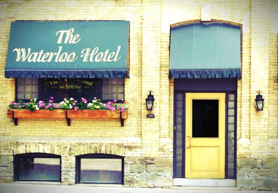 The Waterloo Hotel Entrance