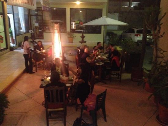 Fiorenza: Great patio