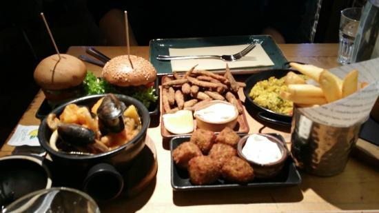 Tapas picture of bar estilo birmingham tripadvisor for Food bar birmingham