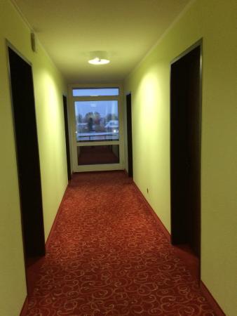 Hotel Aigner: Flur im 3. Stock
