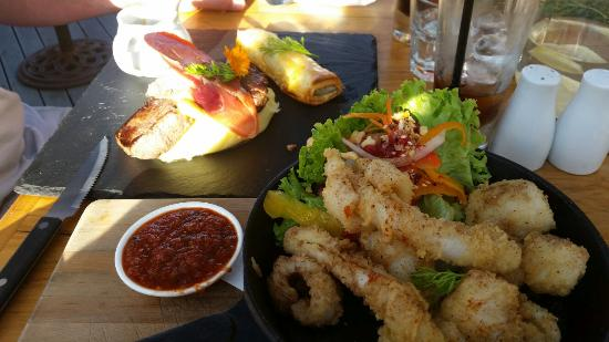 Whistling Frog Cafe & Bar: Delicious