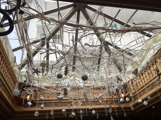 Le Chabichou : o teto enfeitado