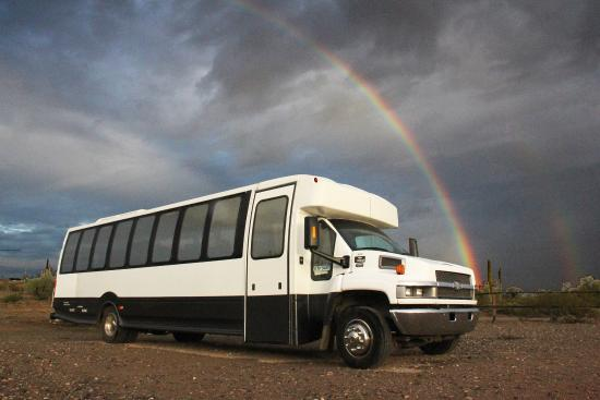 Indigo Tours AZ - Day Tours: Indigo Tours 33 passenger bus