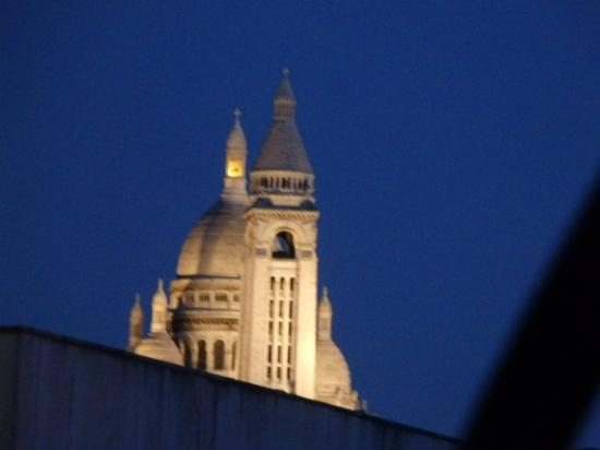 Hotel de la Terrasse: View from the window!