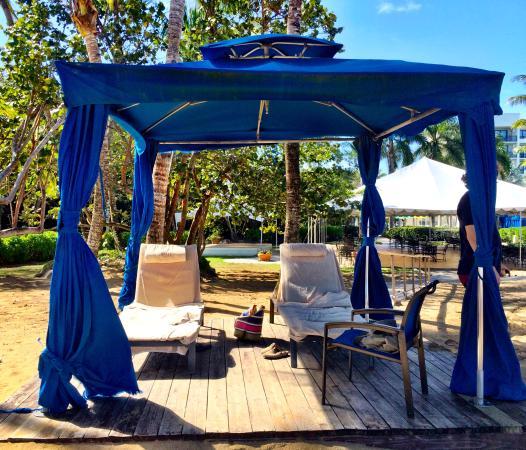 Wyndham Grand Rio Mar Puerto Rico Golf Beach Resort Cabana 20