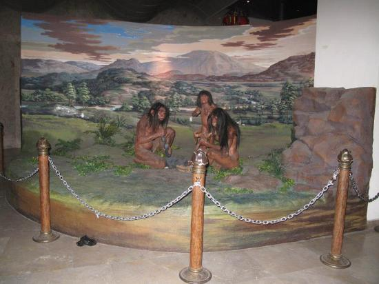 Musée national : Early people