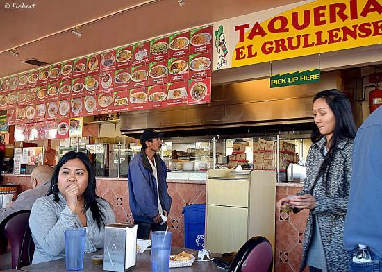 Taqueria El Grullense J & G: An Amazingly Complete Menu