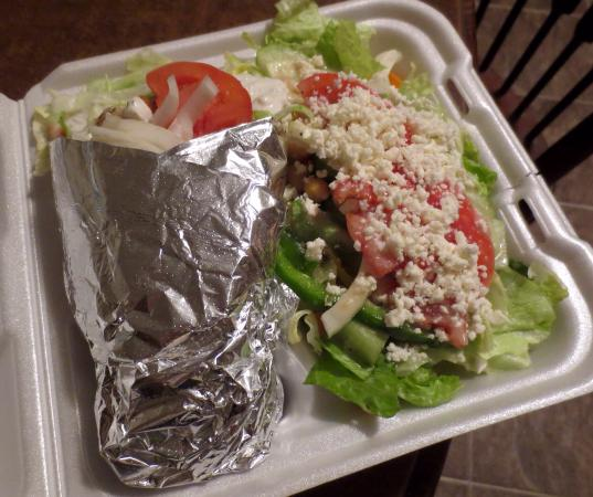 El Greco: Great for to-go dinner