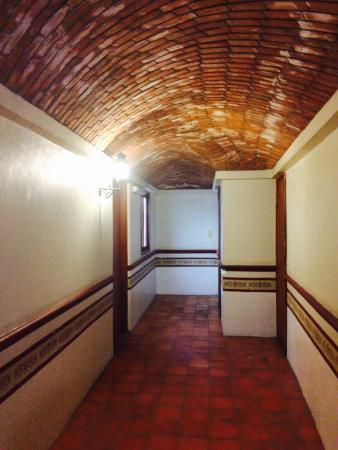 Socavon: Vista de los pasillos me encanto el techo