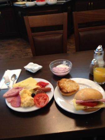 Hotel Europa City: 朝食