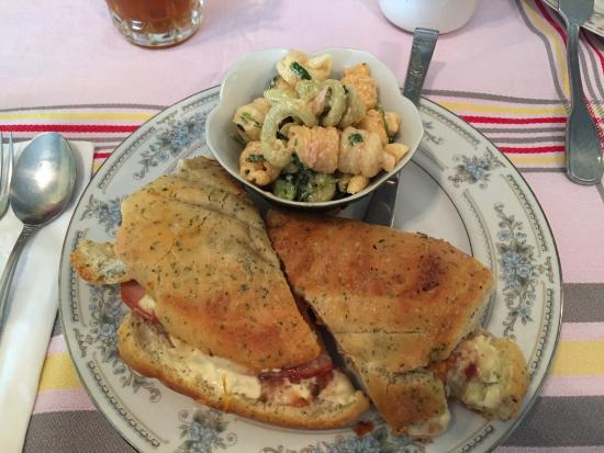 Abilene, KS: Panni with spicy ranch pasta salad