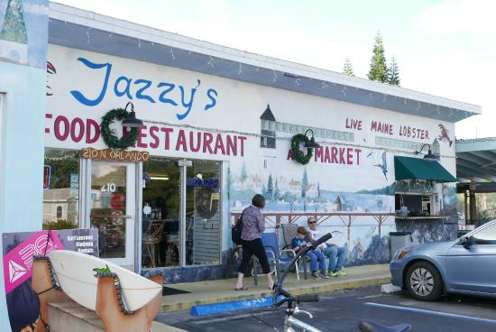 Restaurant Frontage Picture Of Jazzys Mainely Lobster Seafood