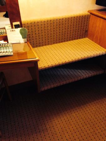 Hotel Ascot: Moquette :-(