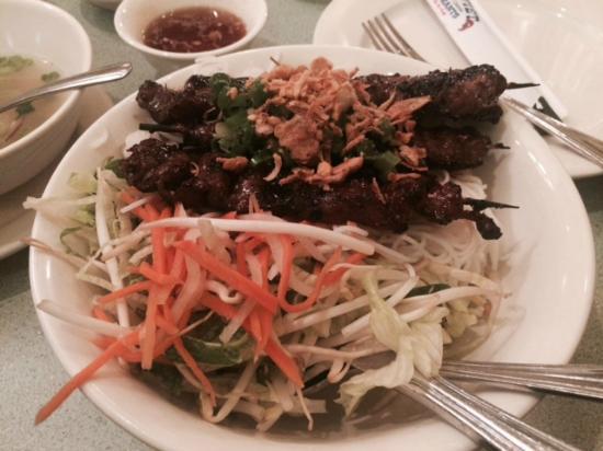 Nam-Viet Pho 79: Lemongrass Beef on Vermicelli