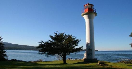 Mayne Island Resort : Historic Lighthouse Park