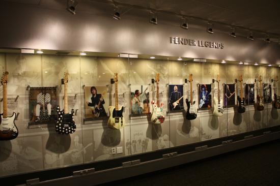 Fender Guitar Visitor Center : コレクション