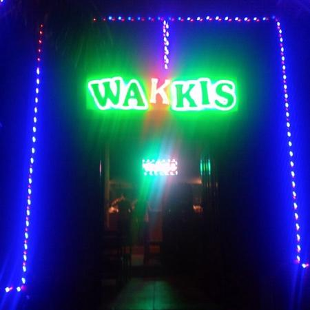 Wakkis looks more like a nightclub than a Curry House