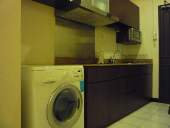 Seri Bukit Ceylon Residences: キッチン