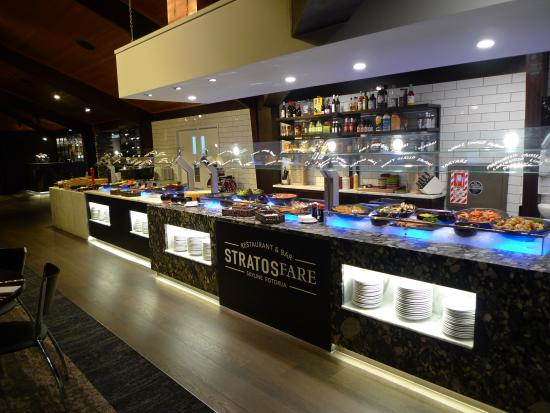 Stratosfare Rotorua: The Buffet Table
