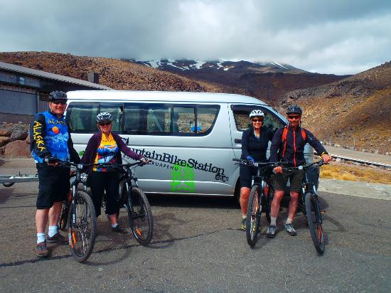 Mountain Bike Station : Starting out at Mt Ruapehu
