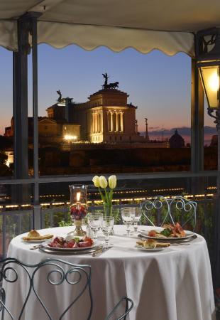 Terrazza Ristorante - Picture of Ristorante Roof Garden Hotel ...