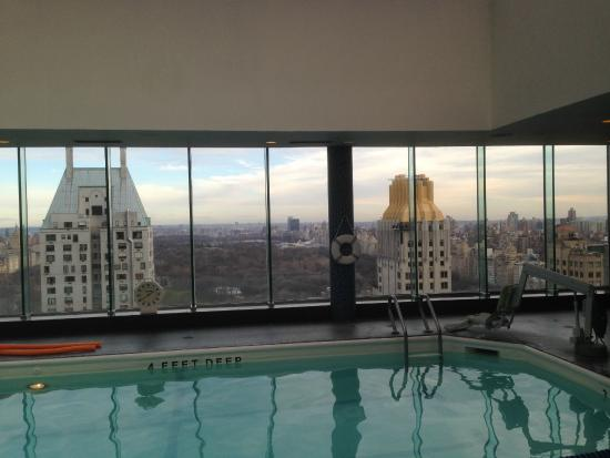 Piscine picture of le parker meridien new york new york for Piscine new york