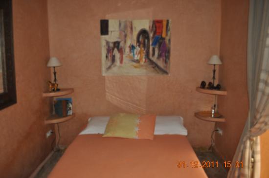Riad La Fontaine des Anges : Chambre Sahel