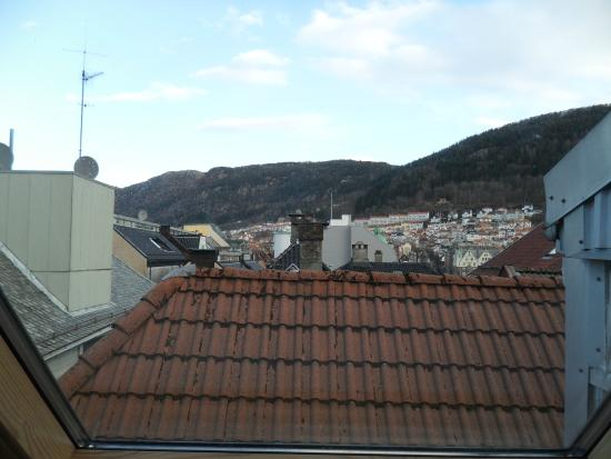 Bergen Apartments: view from room 3