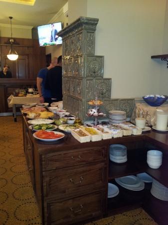 Amber Hotel: comedor