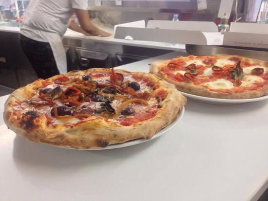 Pizzeria Vesù Express: Doppia pasta