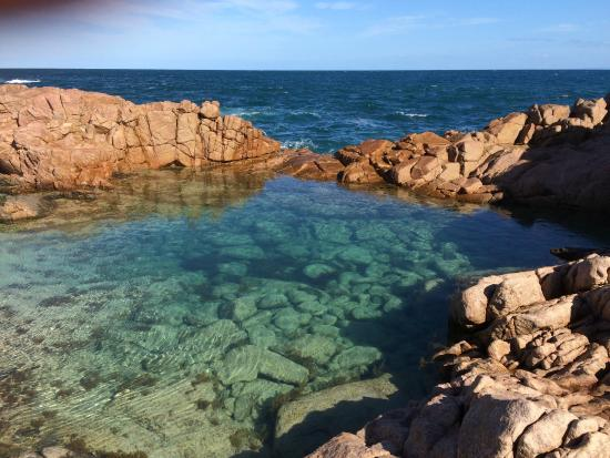Marion Bay Seaside Apartments: nearby rock pool- spectacular