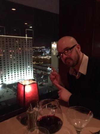 Top of Binion's Steakhouse: The View!