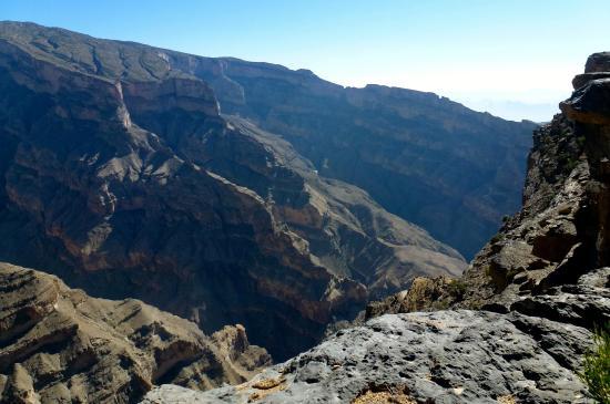 Wadi Ghul - Oman's Grand Canyon: Jebel Shams