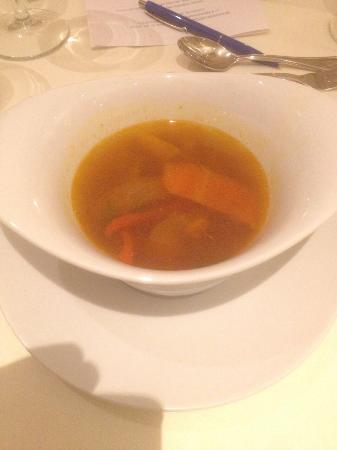 Parkhotel Residence: Fischsuppe
