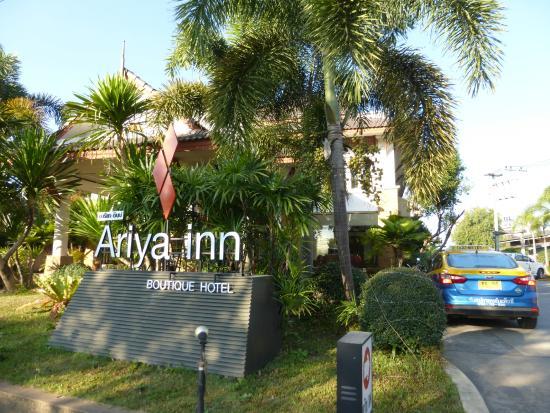 The Ariya Inn as seen from the road