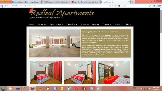 Redleaf Serviced Apartments: Please visit Our Website