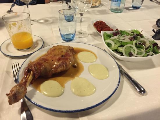 Zintziri Errota: Основное блюдо