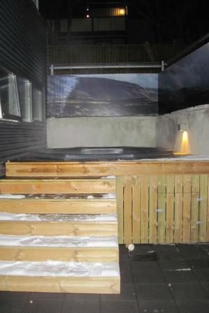 Alda Hotel Reykjavik: Outdoor Hot Tub