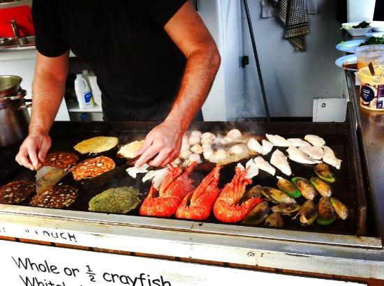 Kaikoura Seafood BBQ: Grigliatona!!!