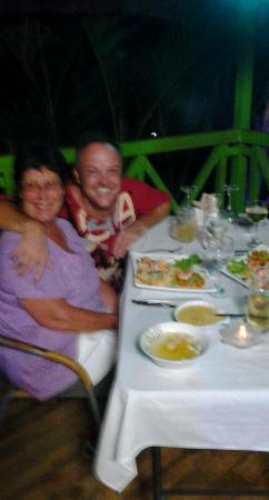 La Tropicale Beach Lodge : French cuisine with Arnod